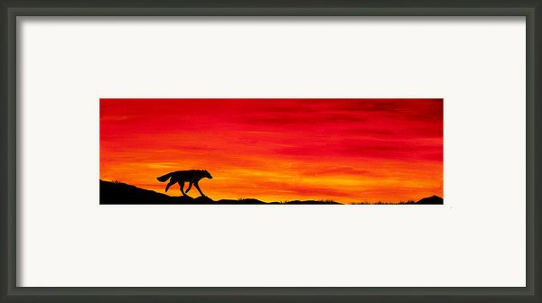 Journey Home Framed Print By Beth Davies