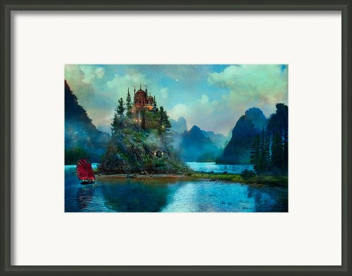 Journeys End Framed Print By Aimee Stewart