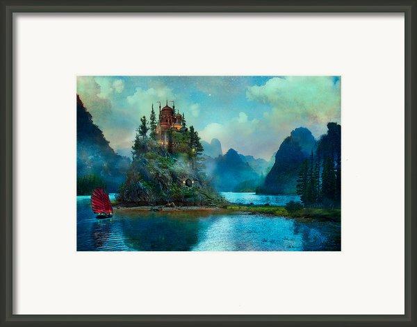 Journeys End Framed Print By Aimee Stewart