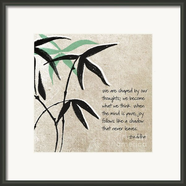 Joy Framed Print By Linda Woods