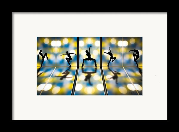 Joy Of Movement Framed Print By Bob Orsillo