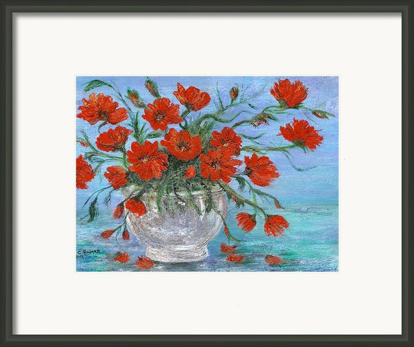 Jubilee Poppies Framed Print By Catherine Howard