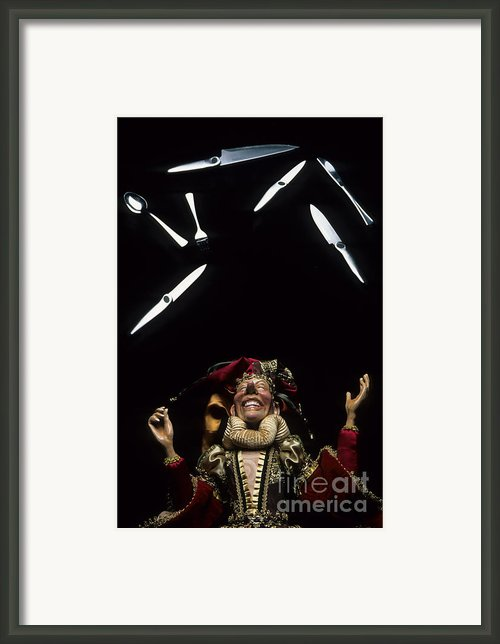 Juggling Fun Framed Print By Bob Christopher