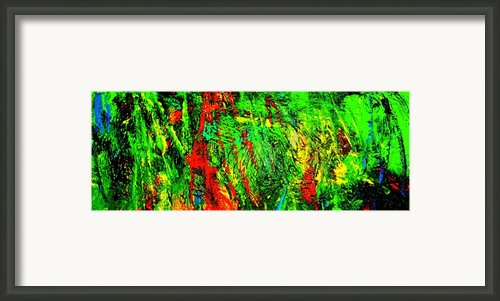 Jungle Beat Framed Print By Monique Wegmueller