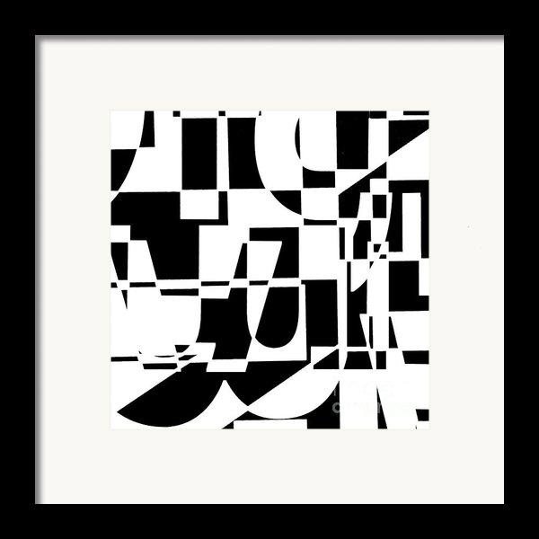 Junk Mail Framed Print By Elena Nosyreva