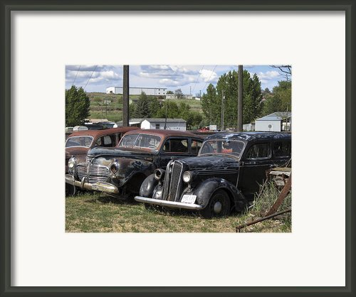 Junk Or Treasure Framed Print By Daniel Hagerman