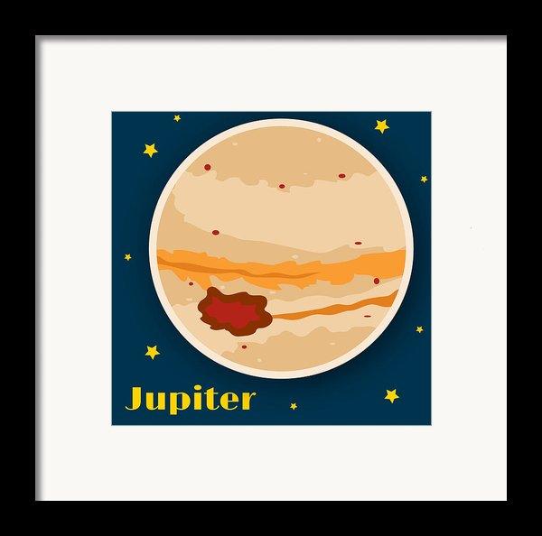 Jupiter Framed Print By Christy Beckwith