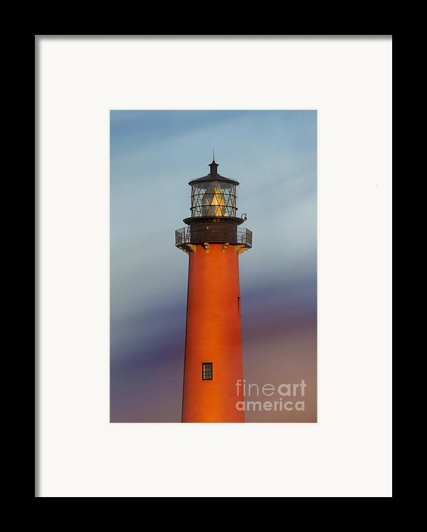 Jupiter Inlet Lighthouse Framed Print By Dmitry Chernomazov