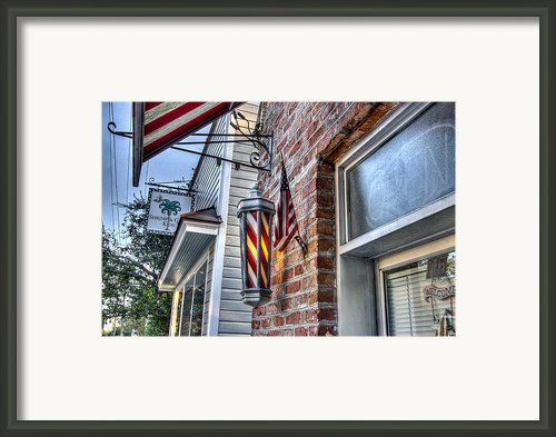 Just A Little Off Of The Top Framed Print By Walt  Baker
