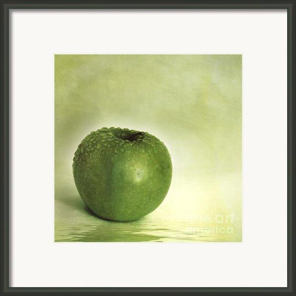 Just Green Framed Print By Priska Wettstein