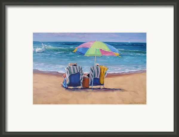 Just Leave A Message Framed Print By Laura Lee Zanghetti