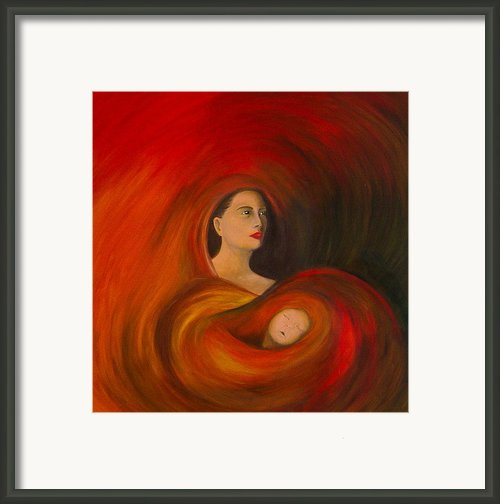 ..just  Love.. Framed Print By Fanny Diaz