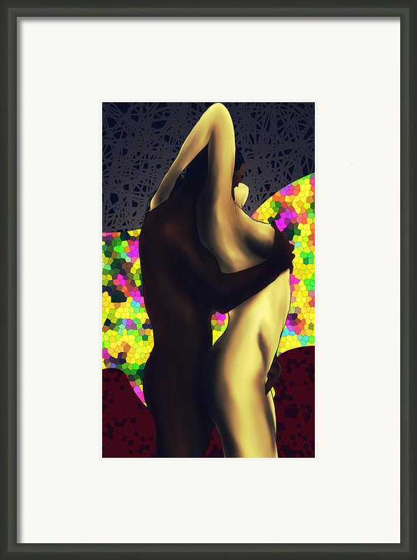 Just Lovers Js Framed Print By Kenal Louis