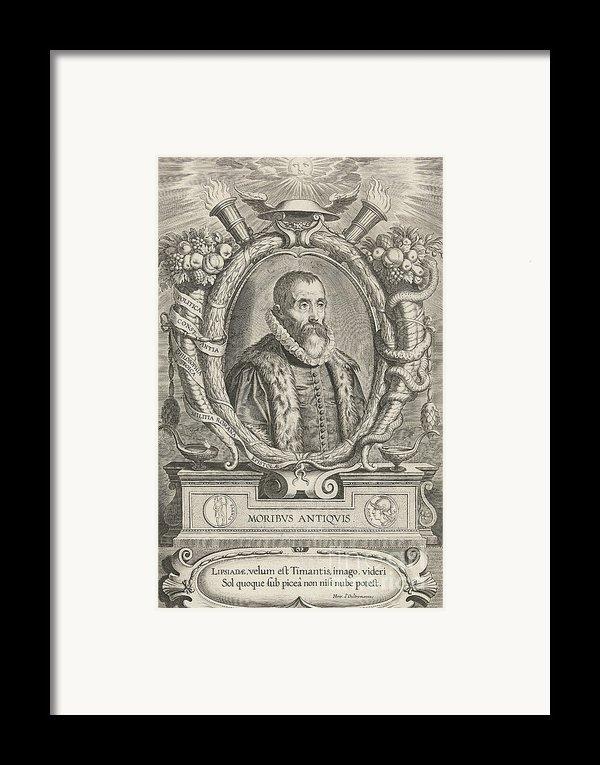 Justus Lipsius, Belgian Scholar Framed Print By Photo Researchers