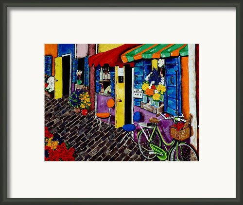 K 21 Street Framed Print By Jackie Carpenter