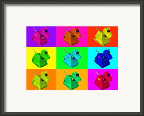K 9 Framed Print By Leonard Lhos