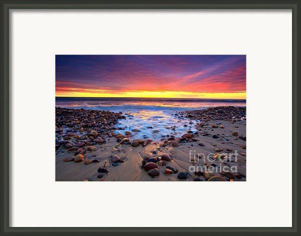 Karrara Sunset Framed Print By Bill  Robinson