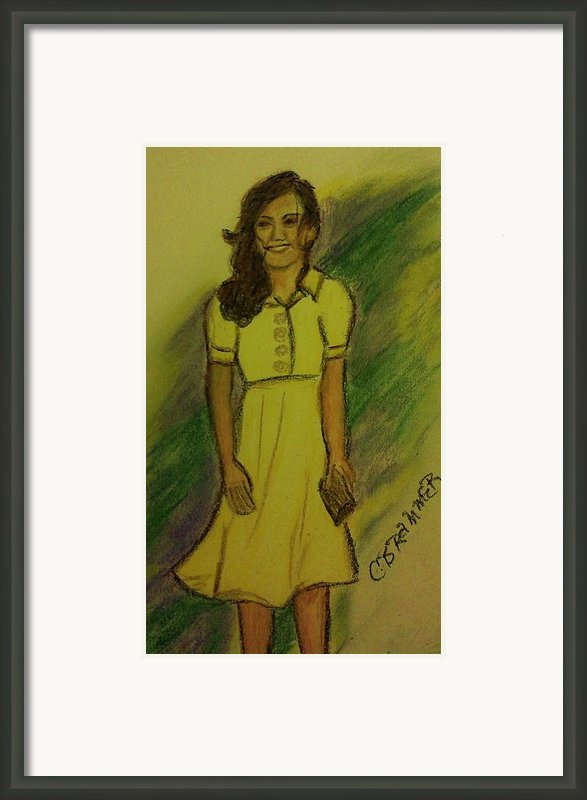 Kate Middleton Framed Print By Christy Brammer