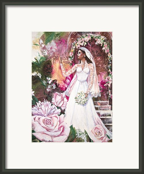 Kate The Princess Bride Framed Print By Patricia Allingham Carlson