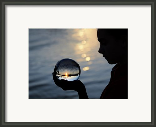 Keeper Of The Flame Framed Print By Laura  Fasulo