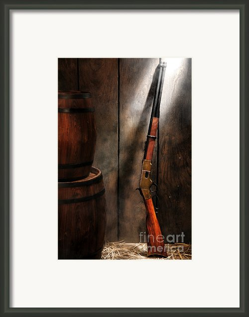 Keeping The Stockroom Framed Print By Olivier Le Queinec