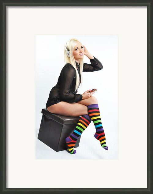 Kellie5 Framed Print By Yhun Suarez