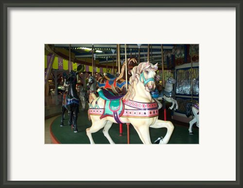 Ken Framed Print By Barbara Mcdevitt