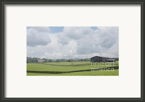 Kentucky Farm Framed Print By Kay Pickens