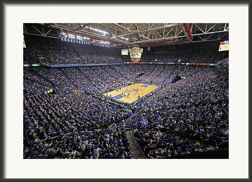 Kentucky Wildcats Rupp Arena Framed Print By Replay Photos