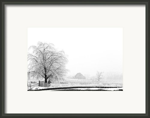 Kentucky Winter  Framed Print By Wendell Thompson