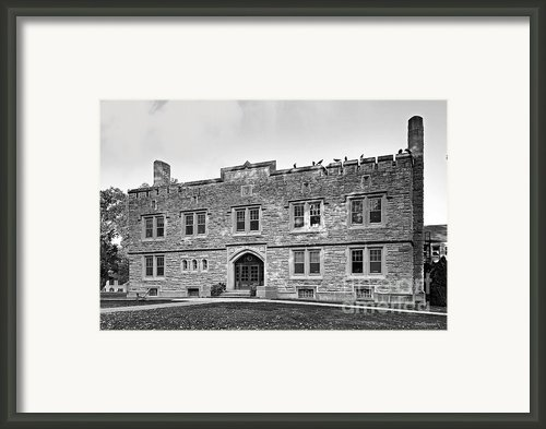 Kenyon College Ransom Hall Framed Print By University Icons
