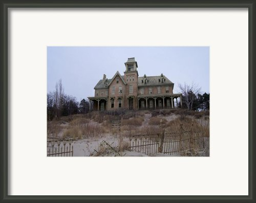 Kettle Point Manor Framed Print By Tom Straub