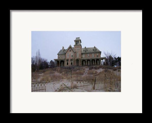 Kettle Point Manor Framed Print By Tom Straub