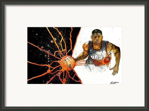 Kevin Johnson - Power Supplier  Framed Print By Michael  Pattison