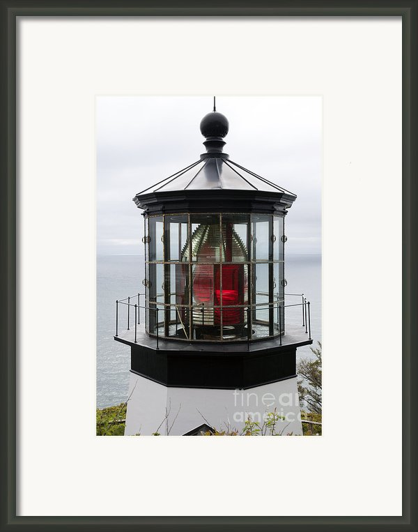 Kilauea Lighthouse Framed Print By Peter French