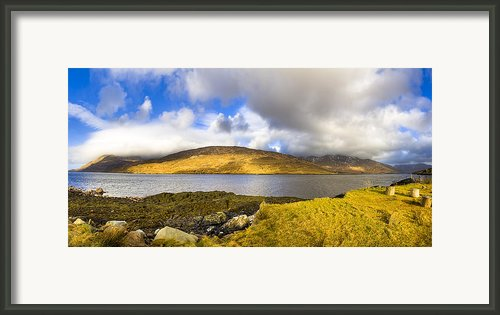 Killary Harbour On The Irish West Coast Framed Print By Mark E Tisdale