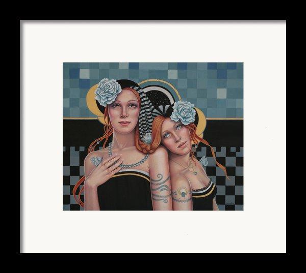 Kindred Spirits Framed Print By Susan Helen Strok