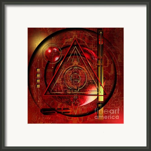King Crimson Framed Print By Franziskus Pfleghart
