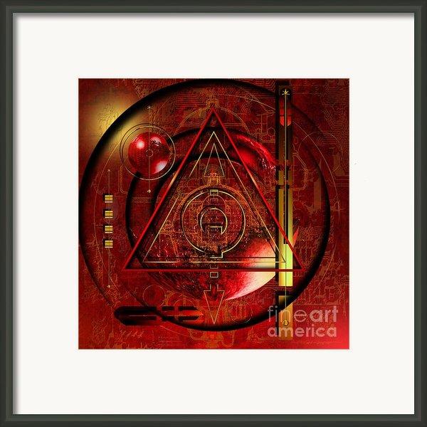 King Crimson Framed Print By Franziskus Pfleghart