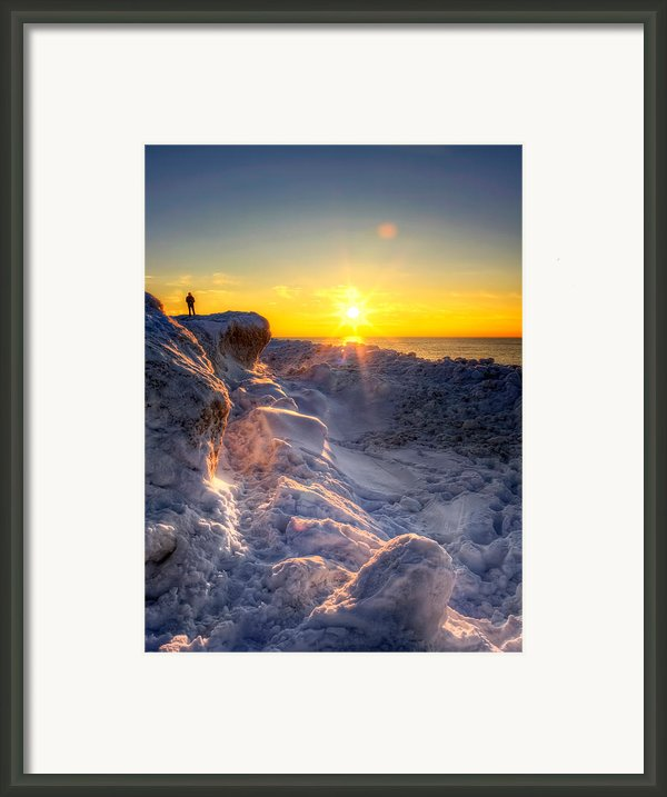 King Of The Hill Framed Print By Jenny Ellen Photography