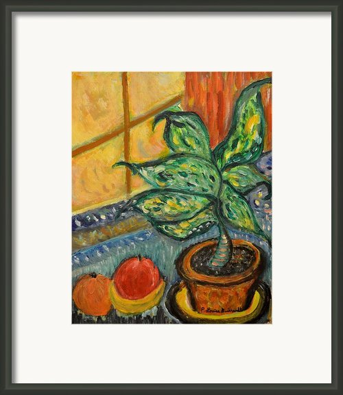 Kitchen Company Framed Print By Louise Burkhardt
