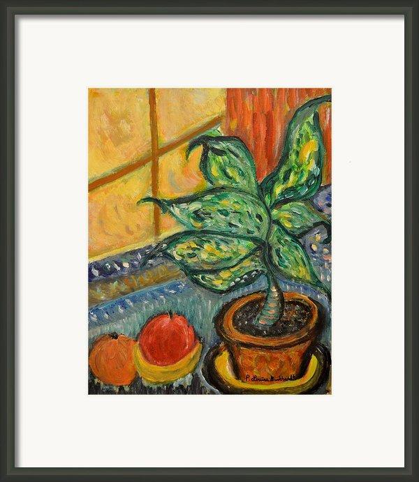 Kitchen Company Framed Print By Louise Burkhardt