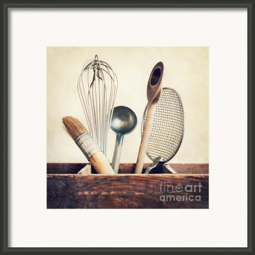 Kitchenware Framed Print By Priska Wettstein
