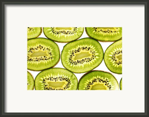 Kiwi Fruit Ii Framed Print By Paul Ge