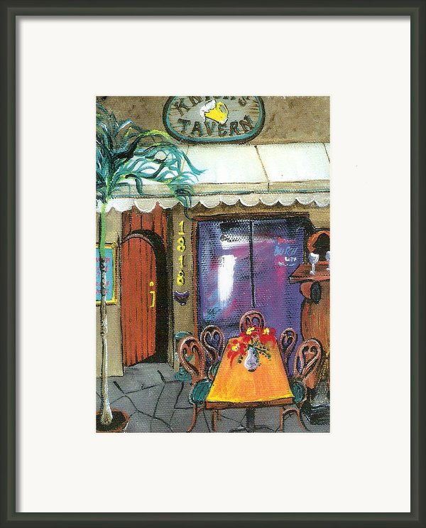 Knicks Tavern Framed Print By Lyla Mitchell