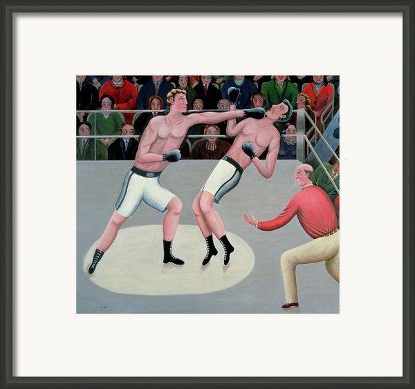 Knock Out Framed Print By Jerzy Marek