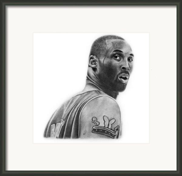 Kobe Bryant Framed Print By Don Medina