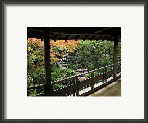 Kokoen Garden - Himeji City Japan Framed Print By Daniel Hagerman