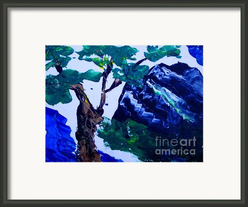 Korean Mountain Framed Print By Jayne Kerr