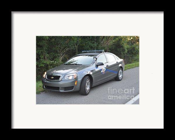 Ksp Cruiser Framed Print By Steven Townsend
